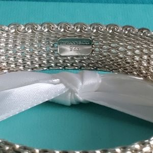 Tiffany & Co. Jewelry - Somerset wide mesh bangle